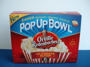 Pop Up Bowl Popcorn