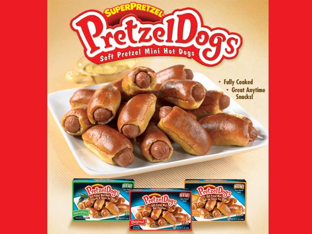 SuperPretzel Introduces Pretzel Dogs - Grocery.com