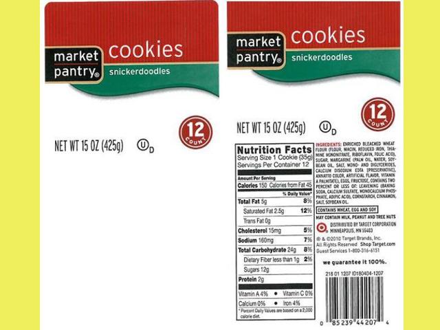 Market Pantry Snickerdoodles Cookies