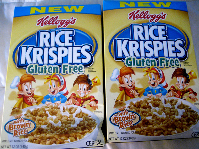 Are rice krispies cereal gluten free