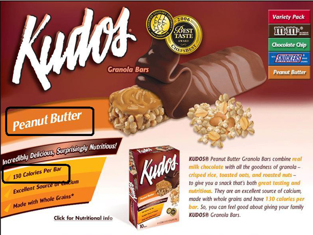 Kudos Granola Bar