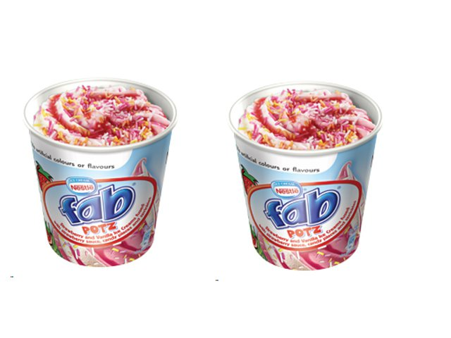 rampr launches nestl233 fab potz ice cream grocerycom