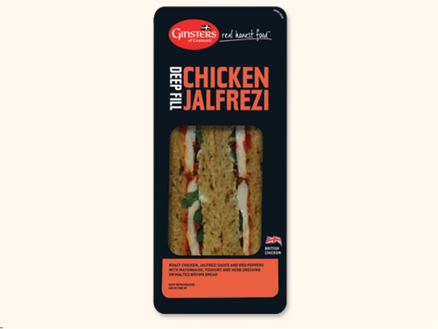 Ginsters Chicken Jalfrezi