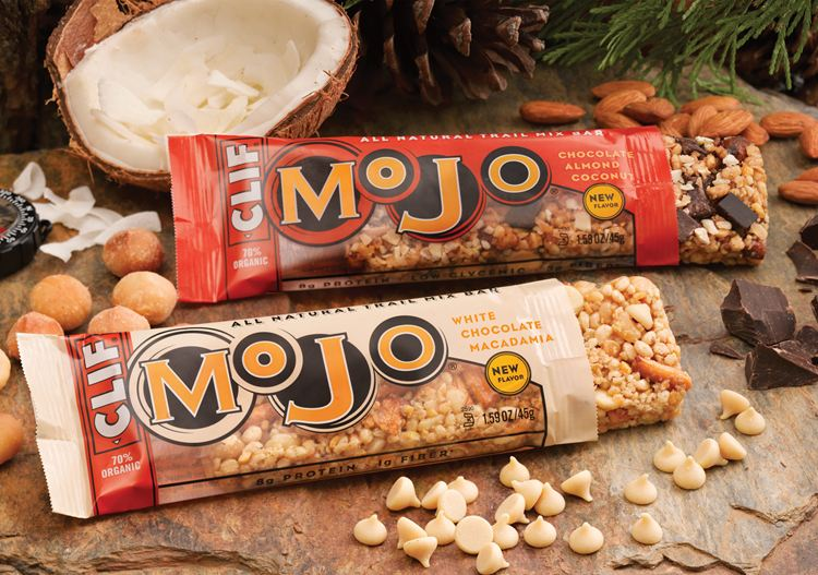 Clif Mojo and Crunch Bar