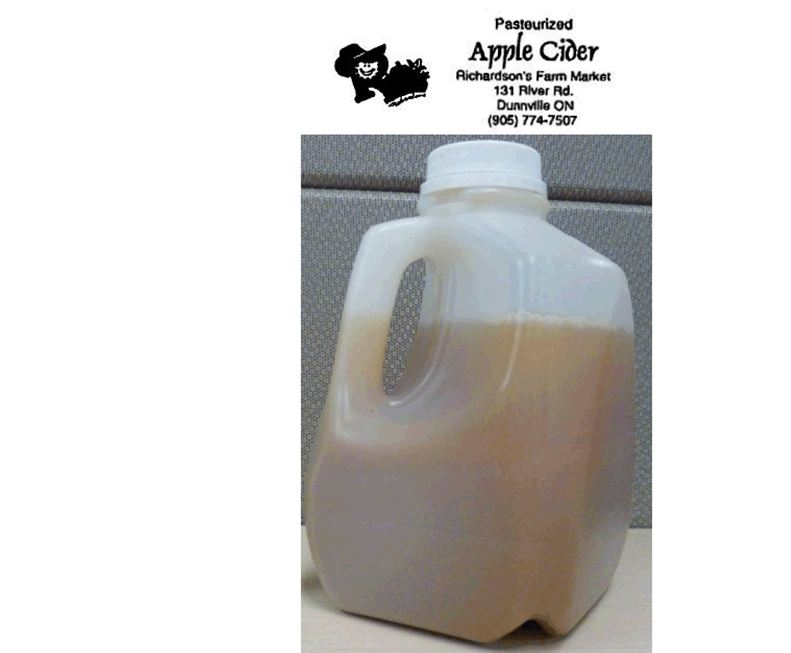 Richardsons Farm Market Apple Cider