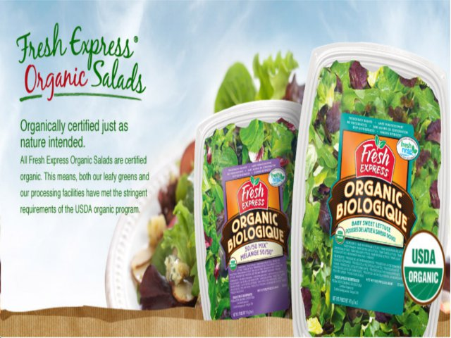 Fresh Express Salad Mixes