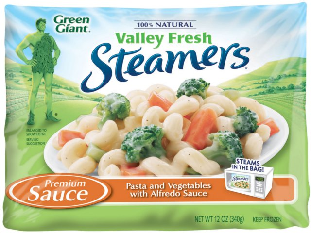 New Valley Fresh Steamers Vegetables With Pasta From