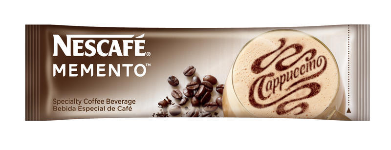Nescafe Memento Cappuccino Packet