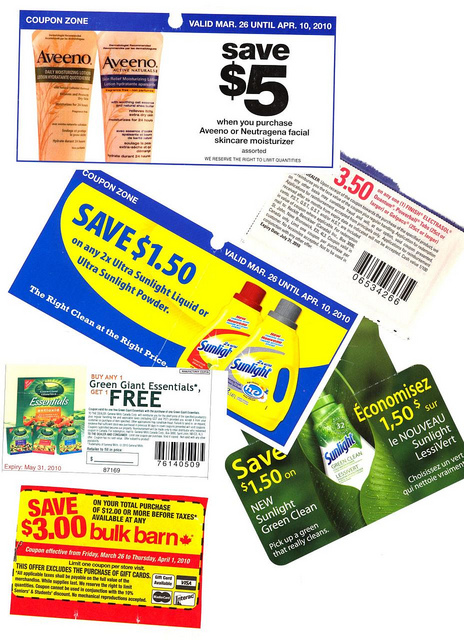grocery coupons for sale